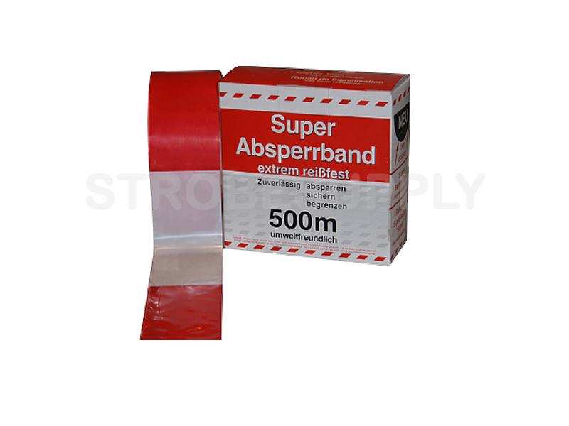 Uitzonderlijk Afzetlint rood/wit – Strobesupply Signalering SF81